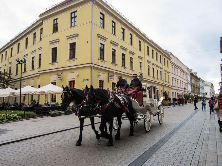 Carro por Cracovia