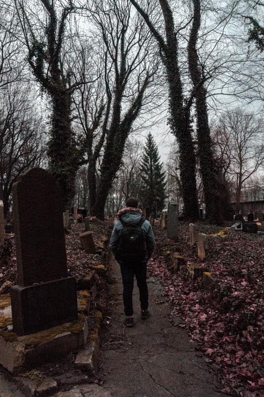 Cementerio judío de Cracovia