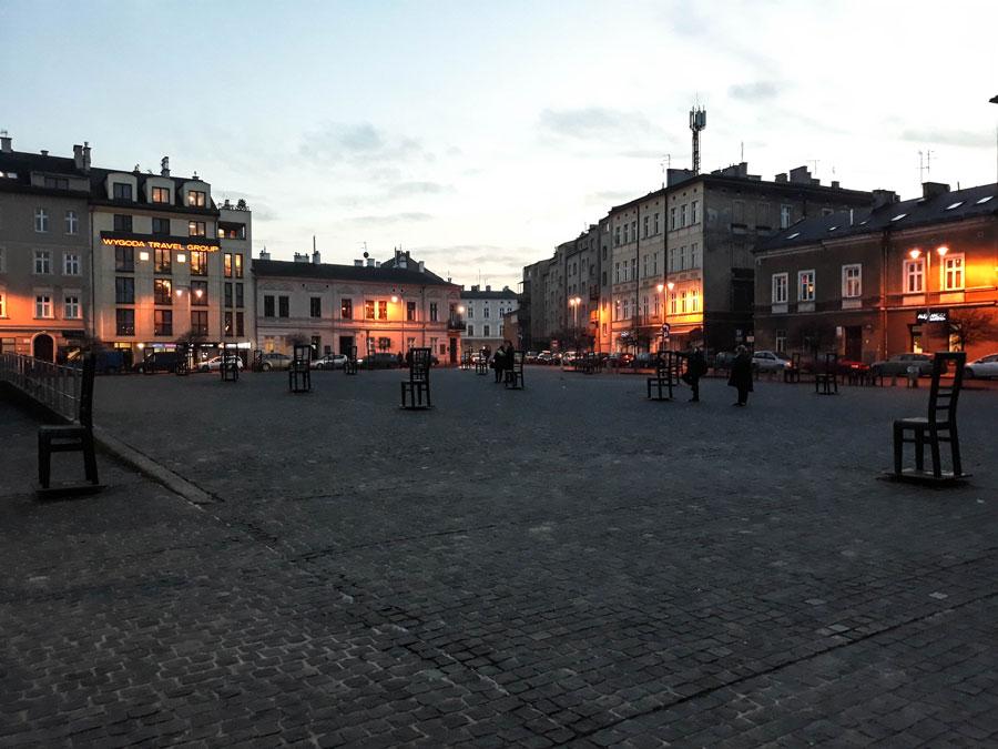 Plaza de los Héroes del Gueto
