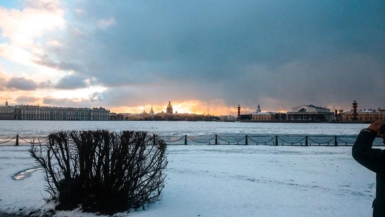 San Petersburgo congelado