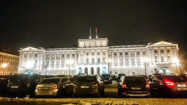 San Petersburgo: arquitectura a la europea