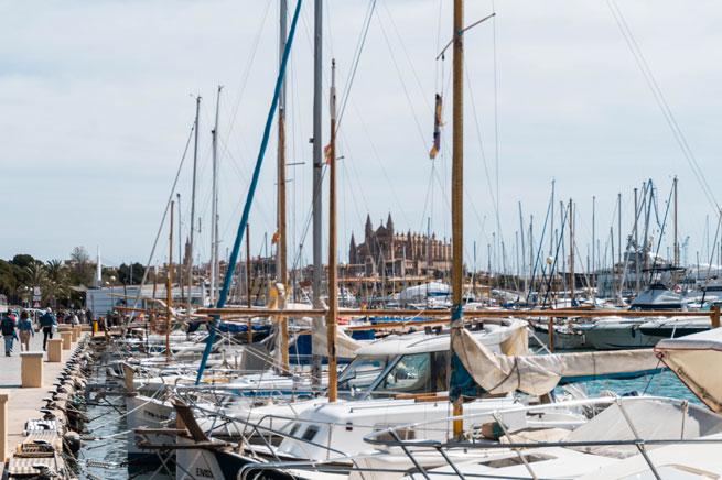 Puerto deportivo de Palma