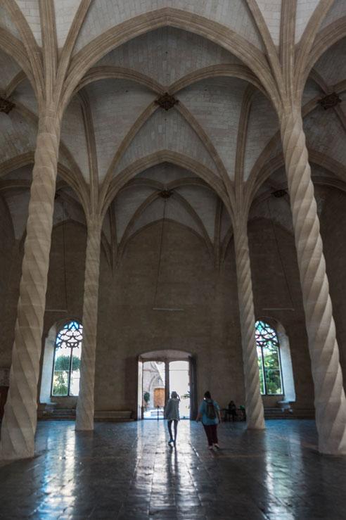 Interior de la lonja de Palma