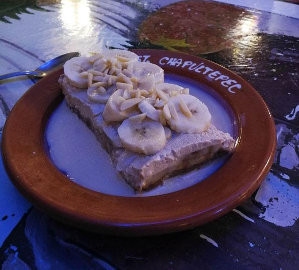 Cajeta de plátano