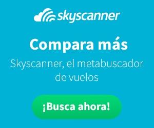 Encuentra el mejor vuelo con Skyscanner