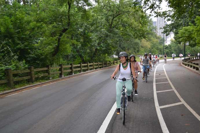 En bici por Central Park