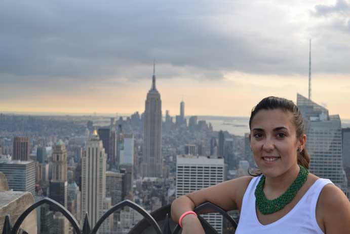 Vistas desde el Rockefeller Center