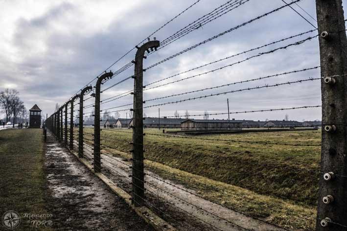 Alambrada de Auschwitz II