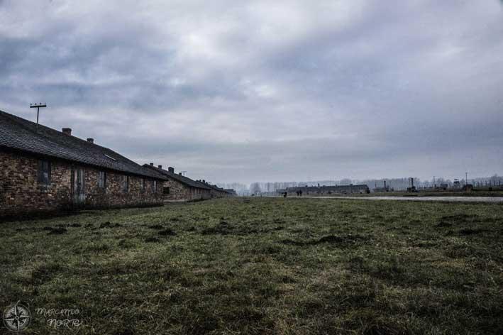 Barracones de Auschwitz II