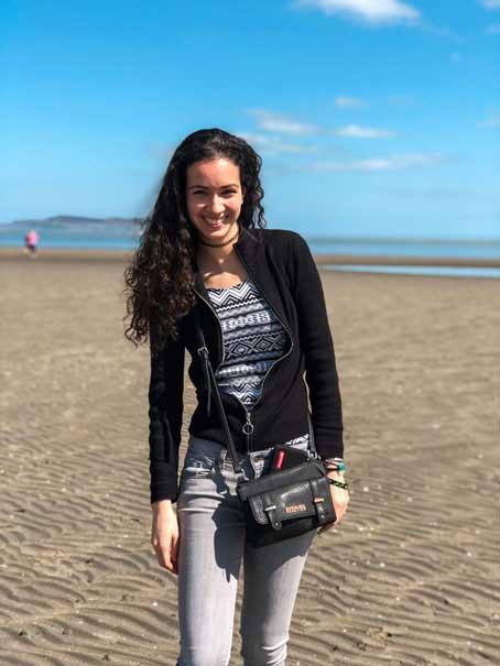 Paseando por la playa de Killiney