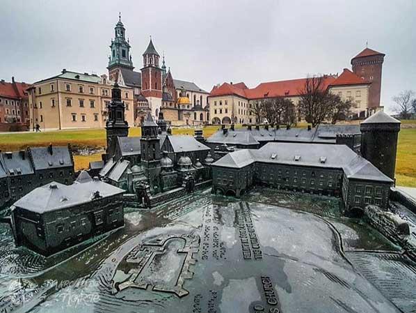 Miniatura del castillo de Wawel