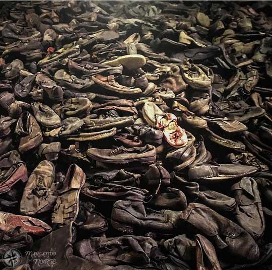 Zapatos de los prisioneros