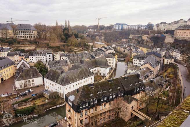 El Grund desde el balcón más bonito de Europa