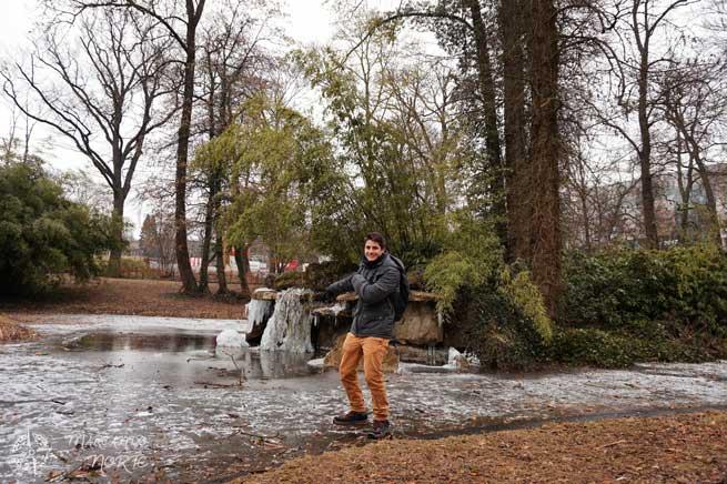 Lagos congelados en Luxemburgo