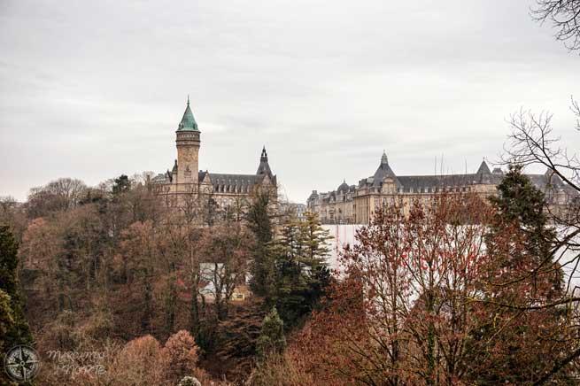 Llegada a Luxemburgo