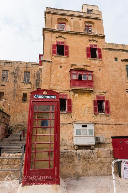 Coloridas fachadas de Malta