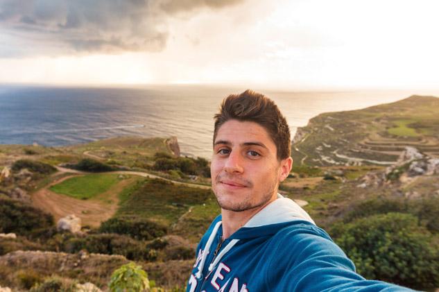 Yo en Malta