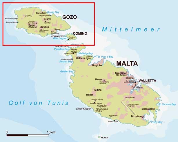 Geografía maltesa