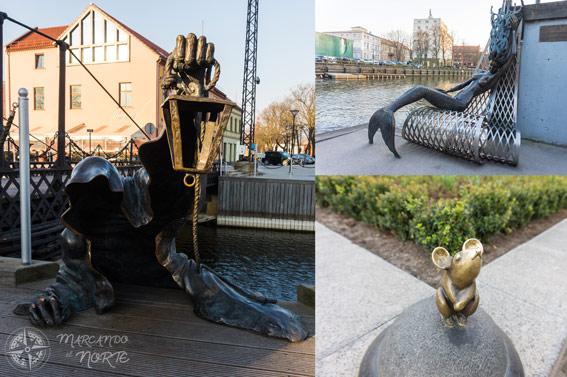 Esculturas Klaipeda