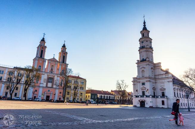 Plaza del Ayuntamiento de Kaunas