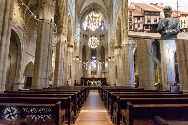 Visita a la Catedral de Santa María de Vitoria