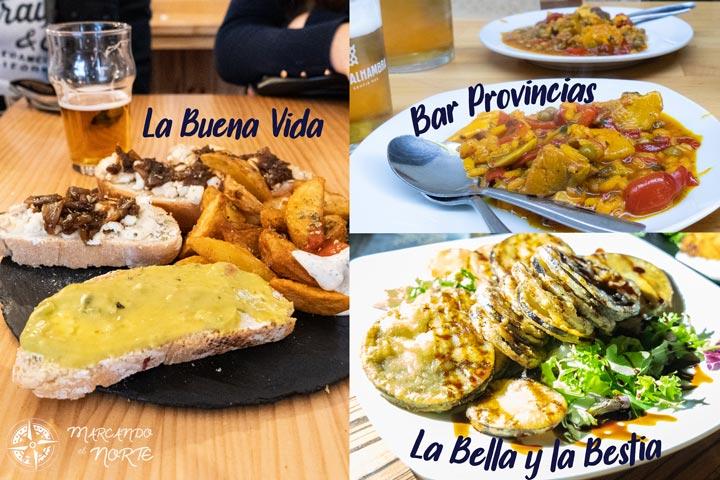 Dónde comer en Granada