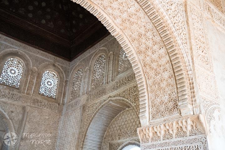 Detalles de la Alhambra