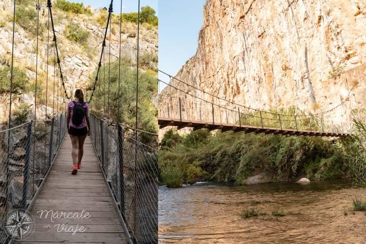 Ruta de los Puentes Colgantes